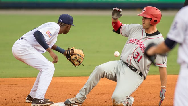 The Chattanooga Lookouts, shown in this 2016 game against the Pensacola Blue Wahoos, have signed new affiliation agreement Tuesday with Cincinnati Reds, ending the Reds' seven-year association in Pensacola.