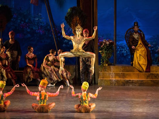 Ballet Arizona dancers perform 'La Bayadere'.