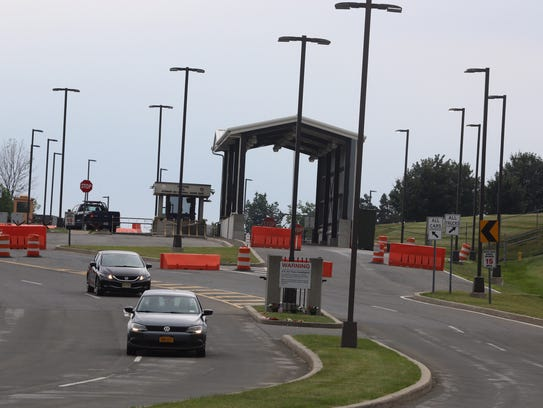 The main entrance to Stewart Air National Guard Base