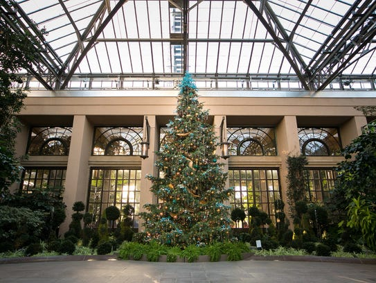 Christmas season at Longwood Gardens begins with 'A