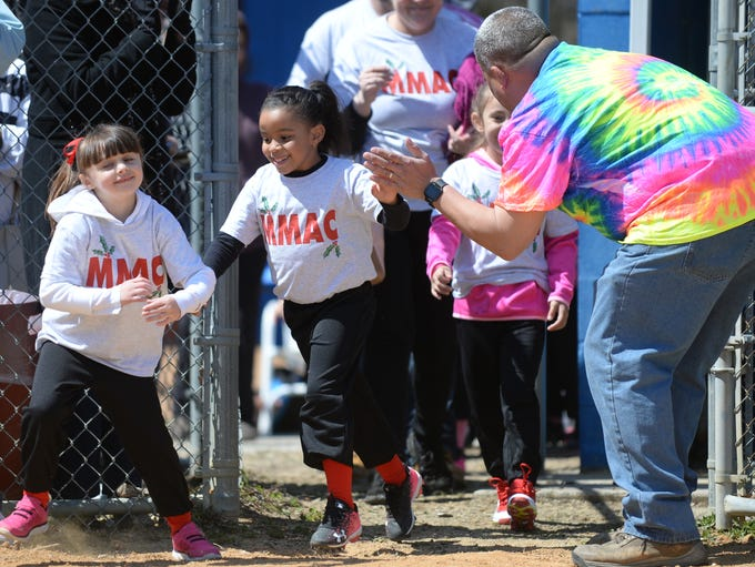Millville Girls Softball League opening day ceremonies