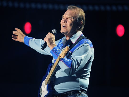 Glen Campbell performs at the 2012 CMA Music Festival. .