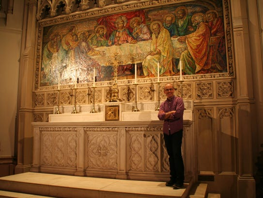 Stephen Kennedy, music director of Christ Church.