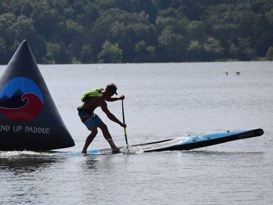 There will be a a standup paddle board competition
