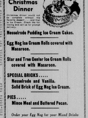 Advertisement from the Dec. 23, 1941, Manitowoc Herald Times.