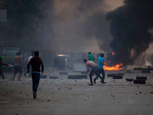AP APTOPIX Mideast Egypt