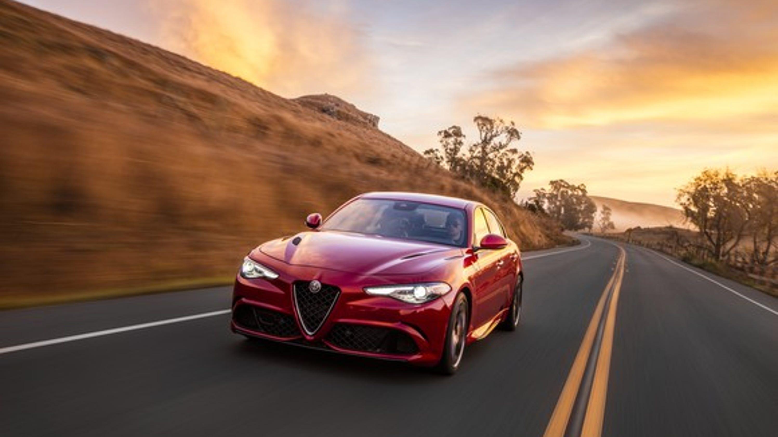 Alfa Romeo Giulia named Motor Trend Car of the Year
