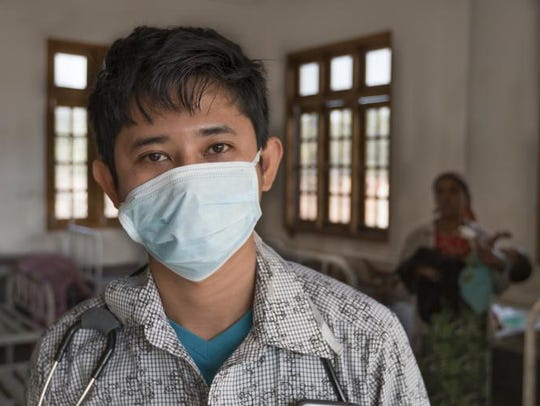 Zaw Ye Htut is a doctor from Naypyidaw.