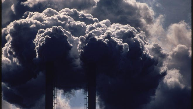 Emissions from a Houston industrial plant.