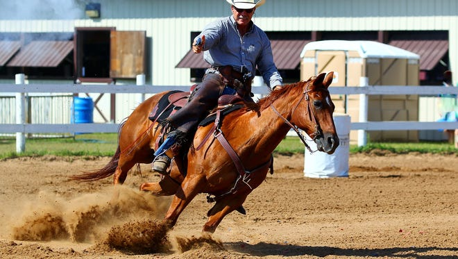 Cowboy mounted shooting is one of the nation's fastest growing equine sports.