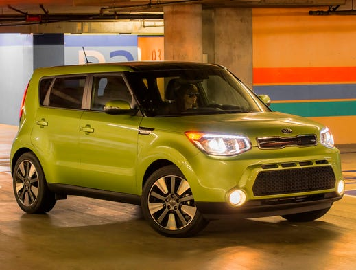 The redone 2014 Kia Soul.