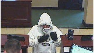 Suspect in Punta Gorda bank robbery