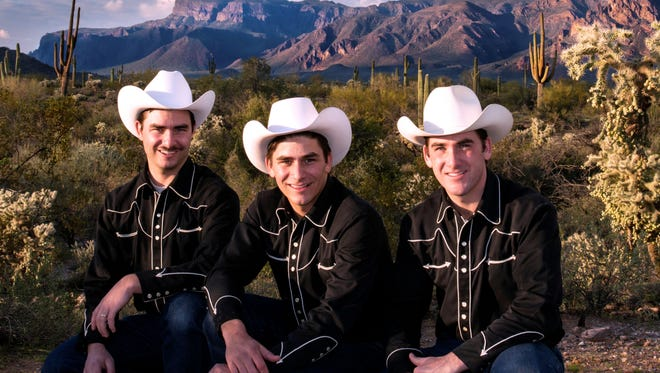 The High Country Cowboys perform classic western music Friday, April 13, at the Mansfield Theater.