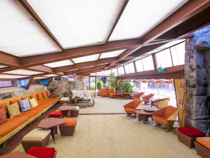 Taliesin West is a National Historic Landmark nestled