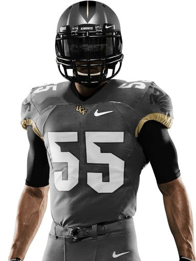 One of 64 uniform combinations designed by Nike.