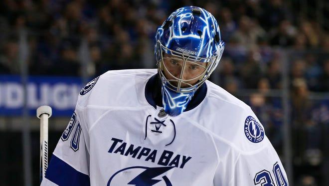 Tampa Bay Lightning goalie Ben Bishop has given up 23 goals in seven games.
