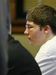 Brendan Dassey listens to testimony April 19, 2007,