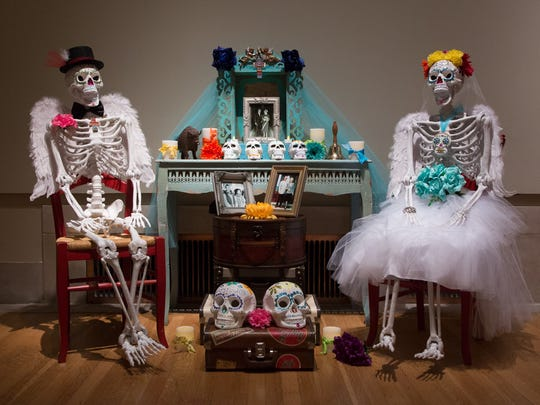 Patricia Pfaendtner created this ofrenda for the DIA in 2015.