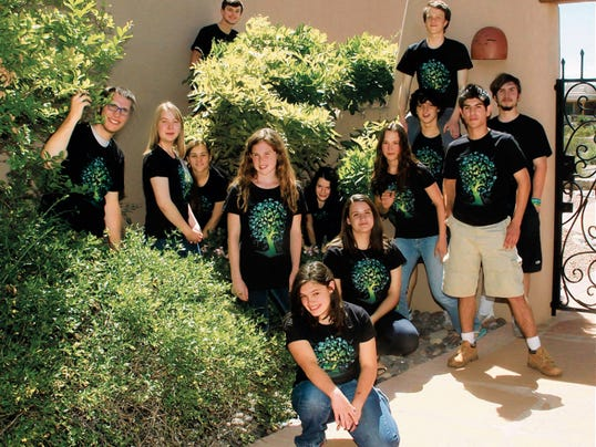 """The 60-member Mesilla Valley Teen Singers present a free """"Signs of Spring"""" concert at 7 p.m. today at University Presbyterian Church, 2010 E. Wisconsin Ave."""