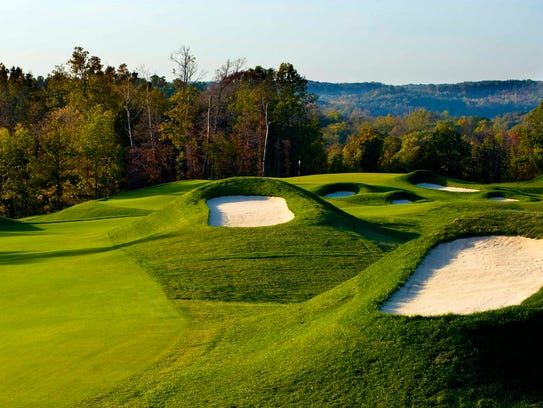 Ross 128 B >> Pete Dye course at Indiana's French Lick Resort has wow factor