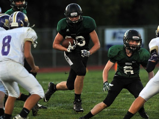 fisher catholic football millersport football