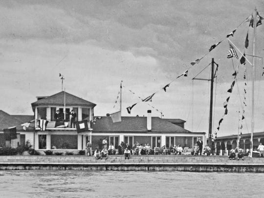 Bayview Yacht Club a long time ago (not sure year).