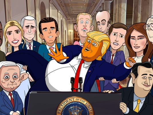 Cartoon President
