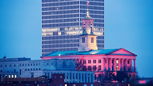 State Capitol Building in Nashville