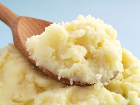 Fluffy mashed potatoes