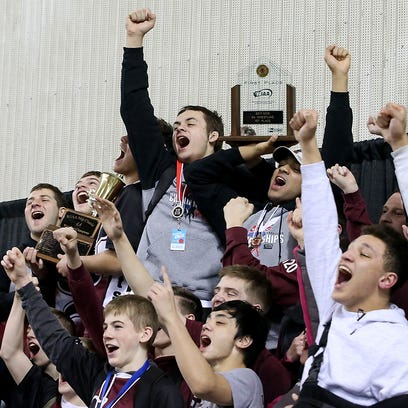 'Amazing' run leads Wolves to state wrestling glory