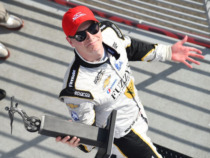 Josef Newgarden, born Dec. 22, 1990 in Hendersonville,