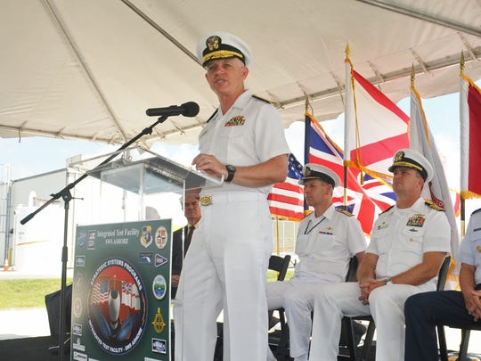 Vice Admiral Terry J. Benedict , director of Strategic