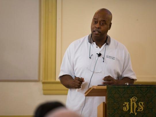 Senior pastor at Newark United Methodist Church Rev.