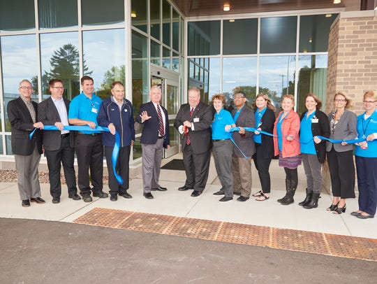 HFM Lakefront Campus in Two Rivers held a ribbon-cutting