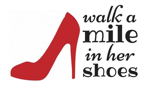 Walk a Mile in Her Shoes relay race and community event is Saturday, Sept. 17 at Gypsy Hill Park in Staunton.
