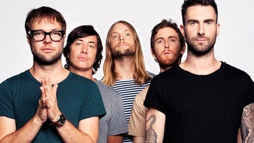 Maroon 5 has a March 5 date at the Blue Cross Arena. And maybe Richmond's as well.