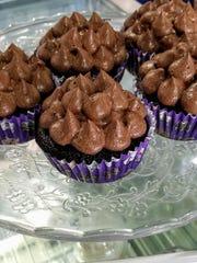 Vienna's Double-Chocolate Vegan Cupcakes: