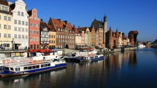 Old Town, Gdansk, Poland.