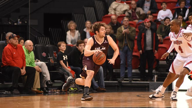 ULM guard Nick Coppola broke the 1,000-point barrier on Saturday.