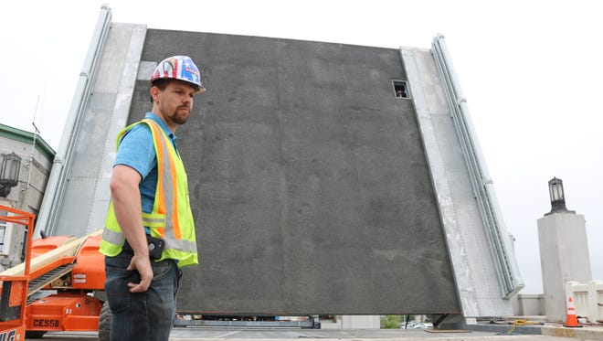 Kyle Rudel, project manager on the Port Clinton Lift Bridge reconstruction, said crews are still in the process of fine tuning the alignment on the south side of the structure and will not be able to open the bridge by July 4.