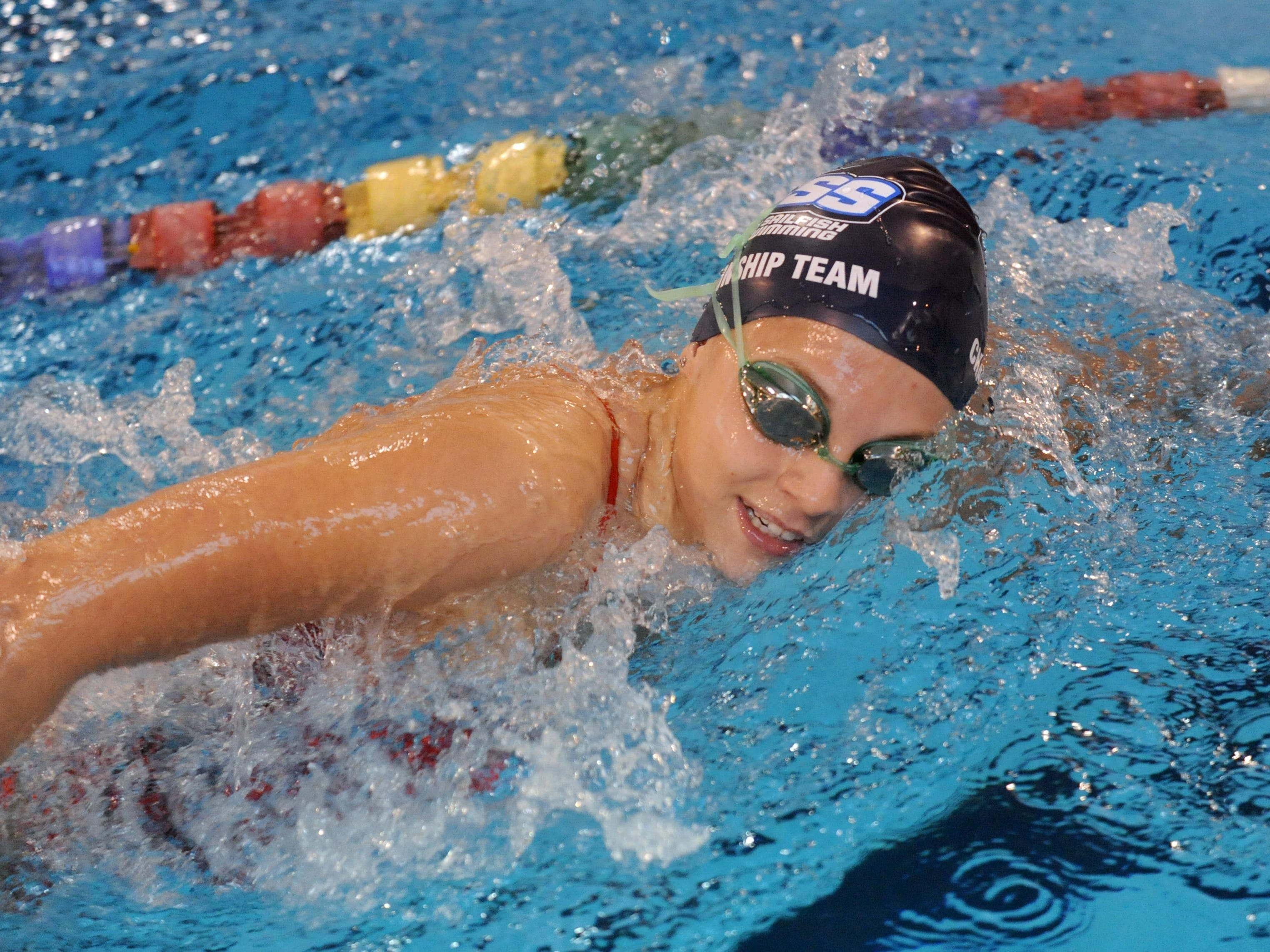 Gulf Breeze junior Tori Bindi seeks a third consecutive year of winning state swim titles at this weekend's Class 2A state championship meet in Stuart, located north of West Palm Beach. Washington girls are also seeking repeat.