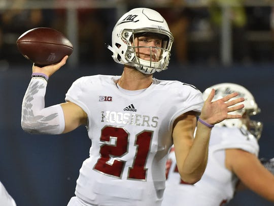 Richard Lagow hasn't turned the ball over in IU's first two games this season.