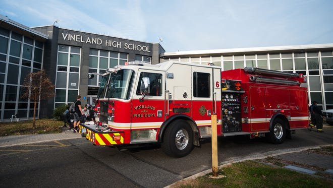 The Vineland Fire Department responded to a call at Vineland High School South on Tuesday, November 21.