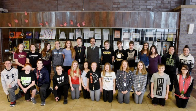 Harrisburg North Middle School students along with their principal Micah Fesler will be attending the presidential inauguration in Washington DC at the end of the month.
