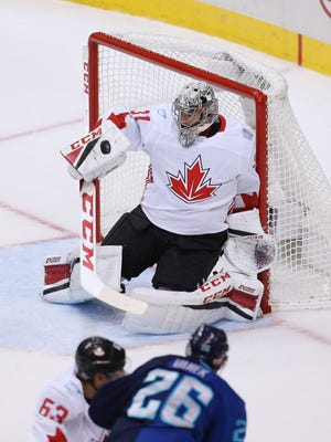 Carey Price posted a .957 save percentage for Team Canada.