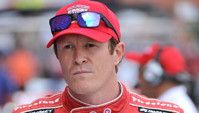 One of Scott Dixon's key pre-race rituals is catching a nap.