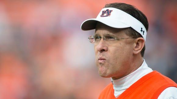 Gus Malzahn suffered his first home loss as Auburn's head coach.