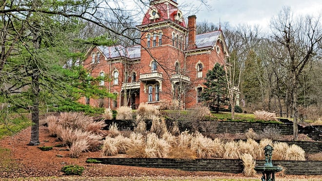The historic Schenck Mansion Bed & Breakfast has 35 rooms decorated with period furnishings.