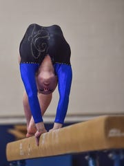 Waynesboro's Alex Stoops won the All-Around title at