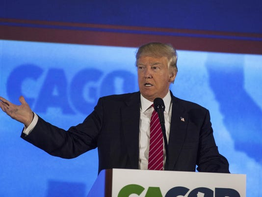 Donald Trump Speaks At The California Republican Party Convention